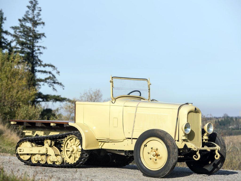 Citroen Kegresse P19B – 1929