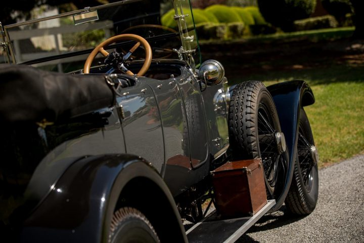 Rolls Royce Silver Ghost Tourer by Bradbury - 1921