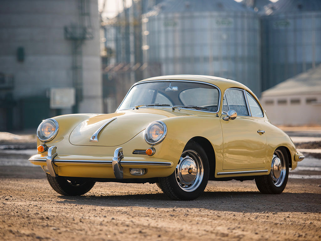 Porsche 356 C 1600 SC Coupe Sunroof - 1964