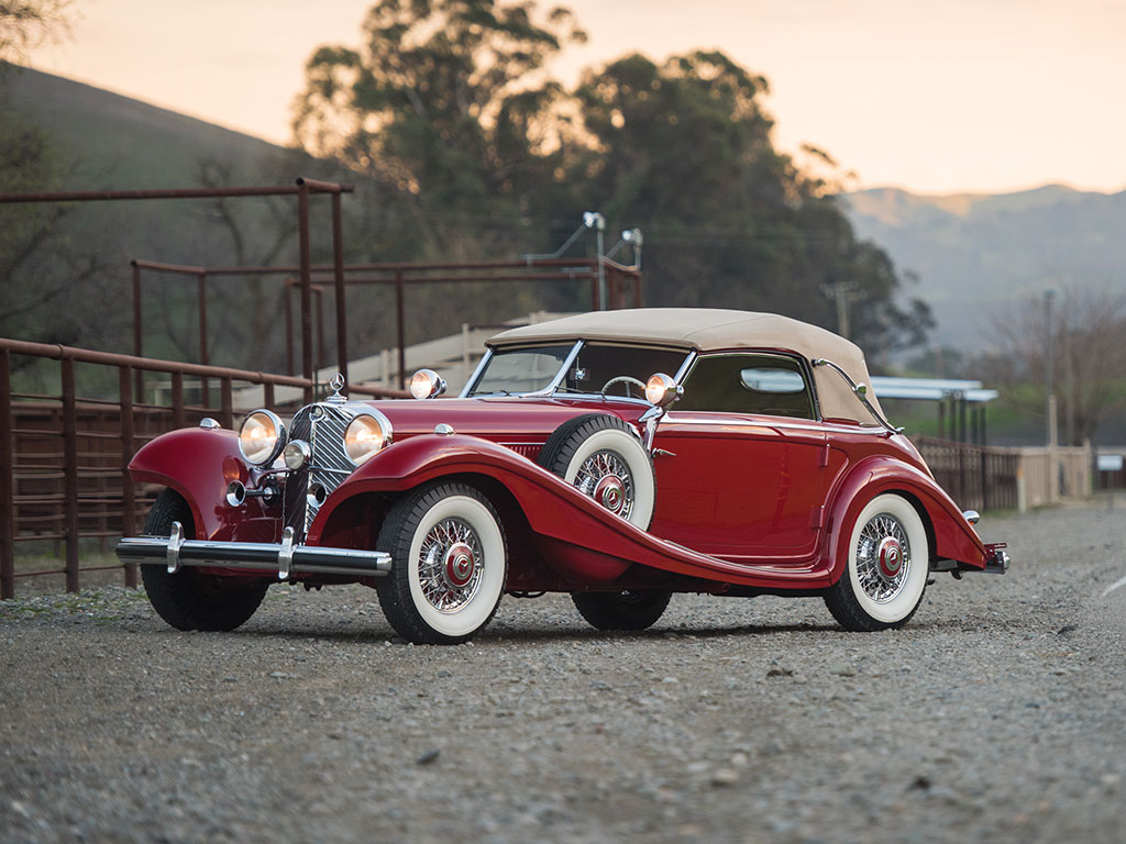 Mercedes Benz 540 K Spezial Cabriolet A - 1939