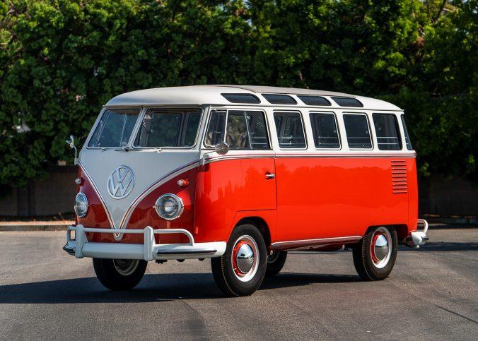 Volkswagen T2 Deluxe 23-Windows Microbus - 1961