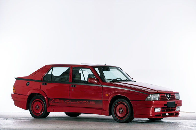 Alfa Romeo 75 1.8 i.e Turbo Evoluzione – 1987