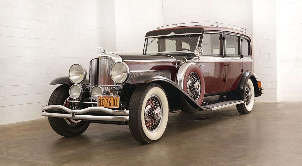 Duesenberg Model SJ Continental Touring - 1934