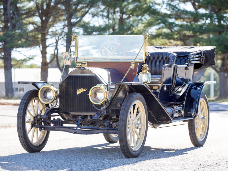 Cadillac Model 30 Demi Tonneau - 1909
