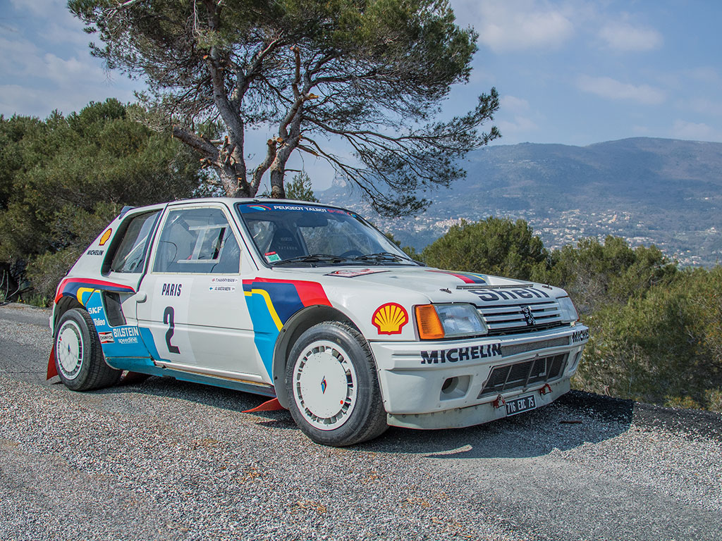 Peugeot 205 Turbo 16 Evolution 1 Group B - 1984