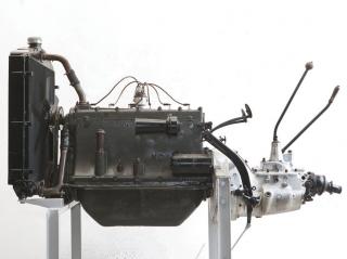 1930 Fiat 525 N Engine and Transmission