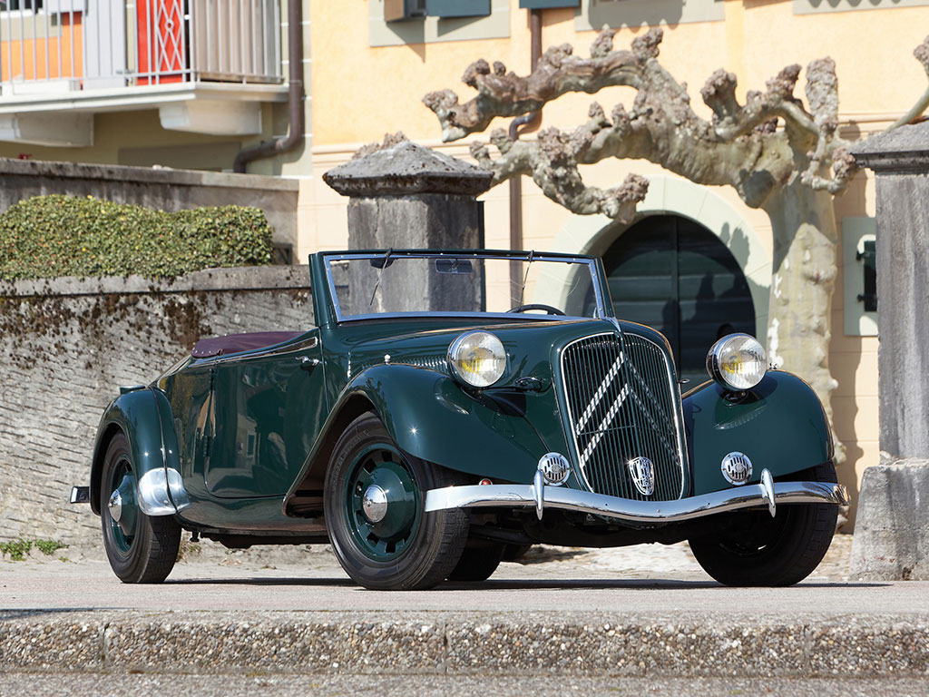Citroen Traction Avant 15 CV Roadster – 1939