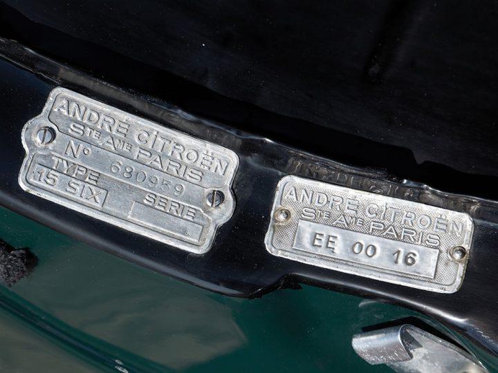 Citroen 15 CV Roadster 19