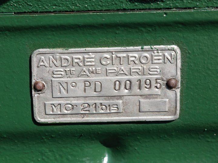 Citroen 15 CV Roadster 20