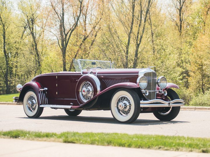 Duesenberg Model J Disappearing Top Convertible Coupe - 1929