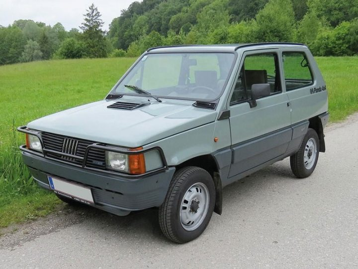 FIAT Panda 4x4 - 1983