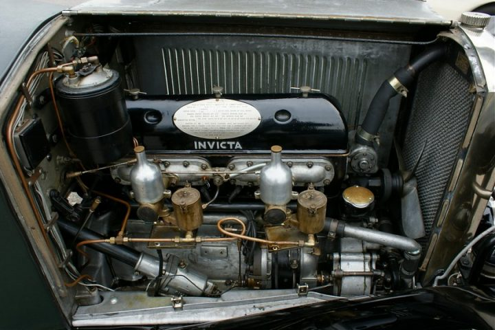 Invicta 4.5 l High Chassis Tourer 1