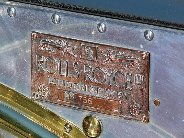 Rolls Royce Silver Ghost Tourer by Wilkinson