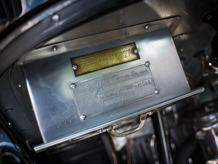 Alfa Romeo 8C 2900B Lungo Spider - 1939