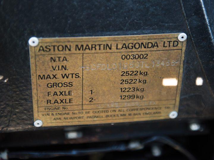 Aston Martin Lagonda Series III - 1985 26