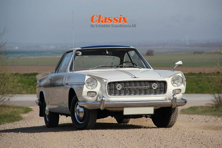 FIAT 2100 En Plein Vignale - 1961
