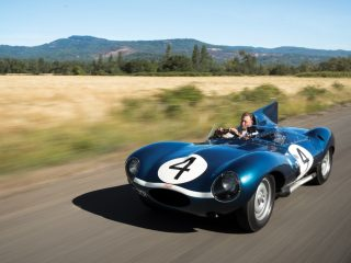 Jaguar D Type – 1955