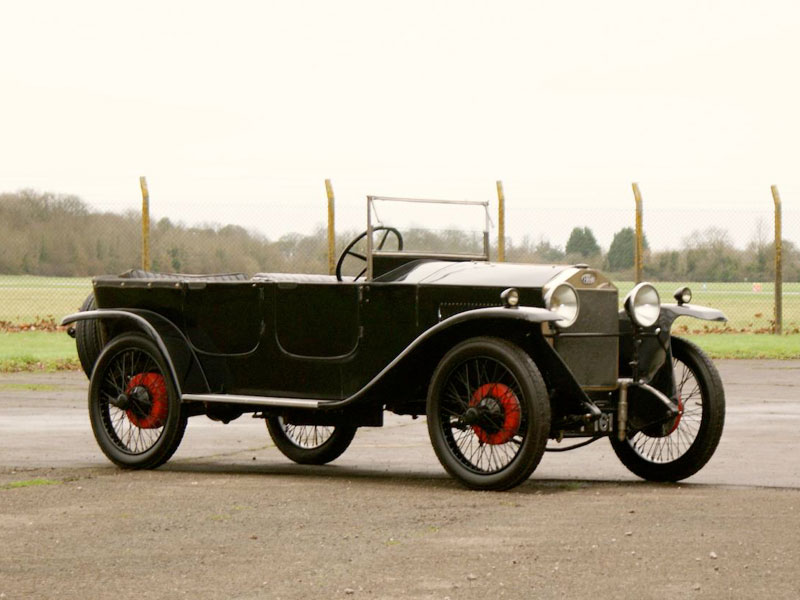 Newton Ceirano Type S150 14 HP tourer – 1925