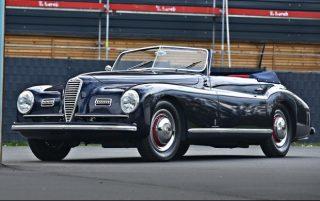 Alfa Romeo 6C 2500 Sport Cabriolet – 1947