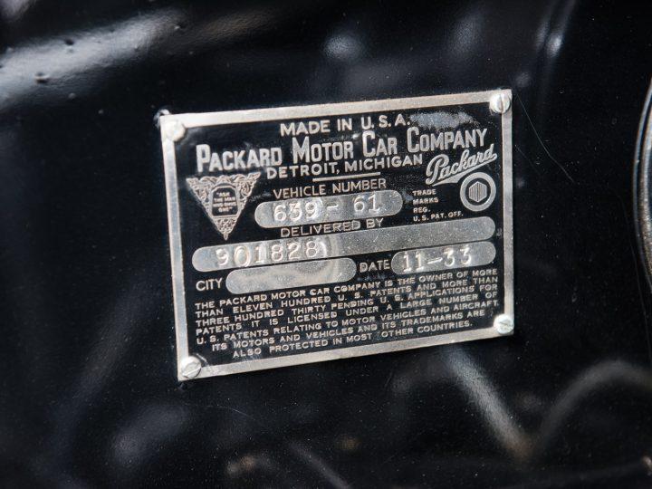 Packard Twelve Coupe Roadster - 1933 27