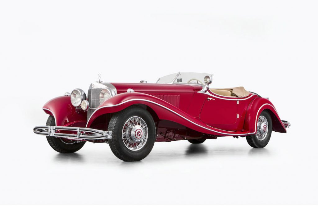 Mercedes-Benz 500 K Roadster - 1935