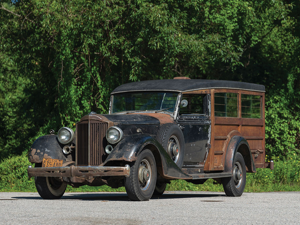 Packard Super Eight Hunting Car - 1934