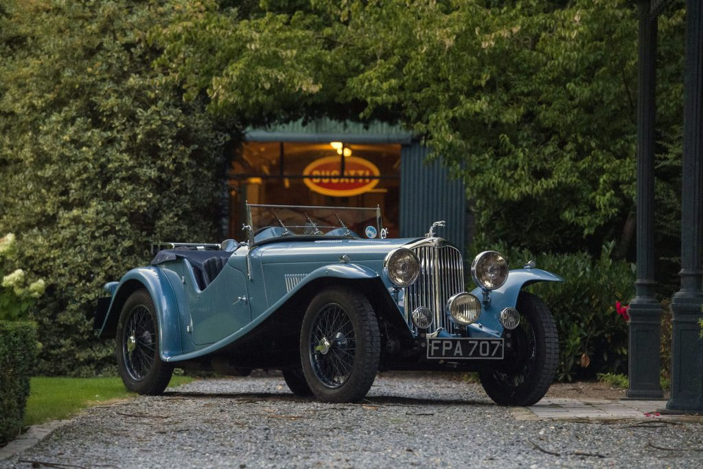AC 16/80 Short Chassis Competition Sports – 1937