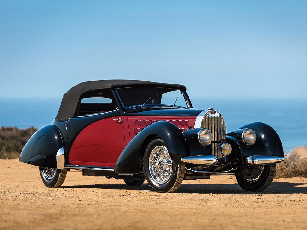 Bugatti Type 57 Cabriolet by Letourneur et Marchand – 1939