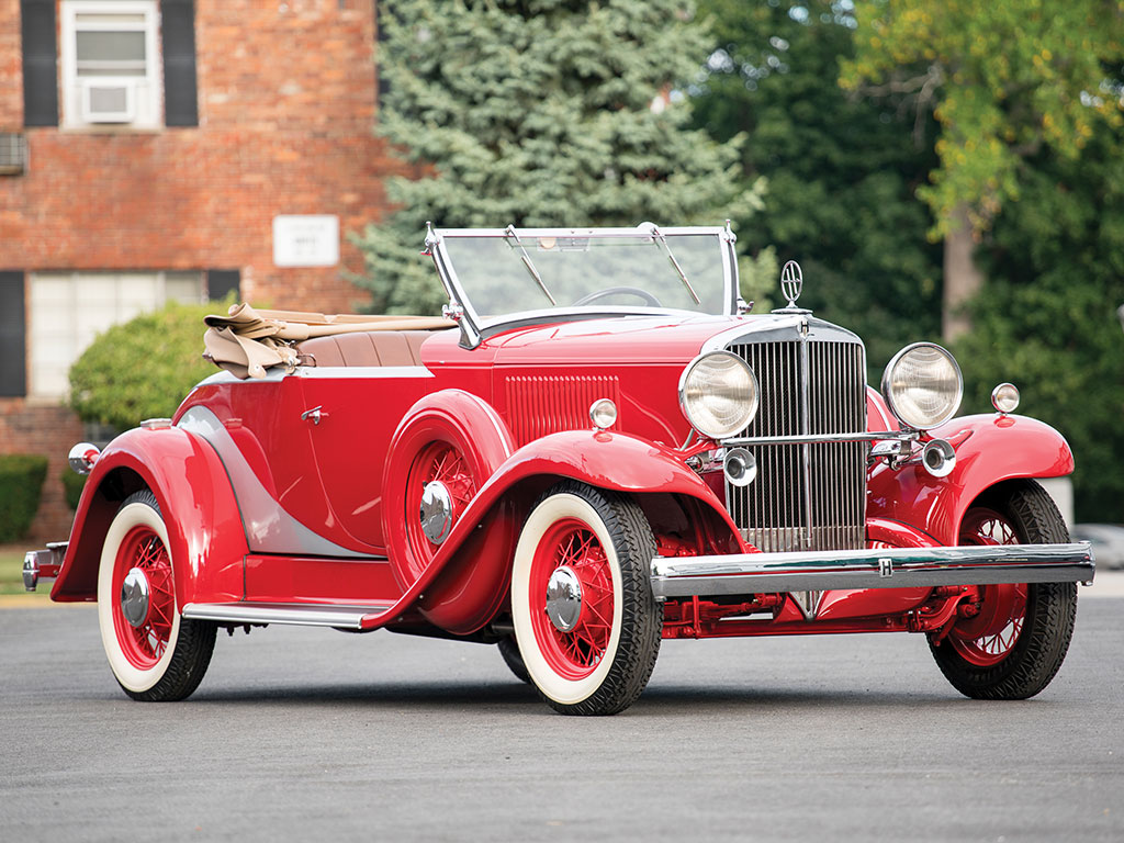 Hupmobile B-316 Boattail Roadster - 1933