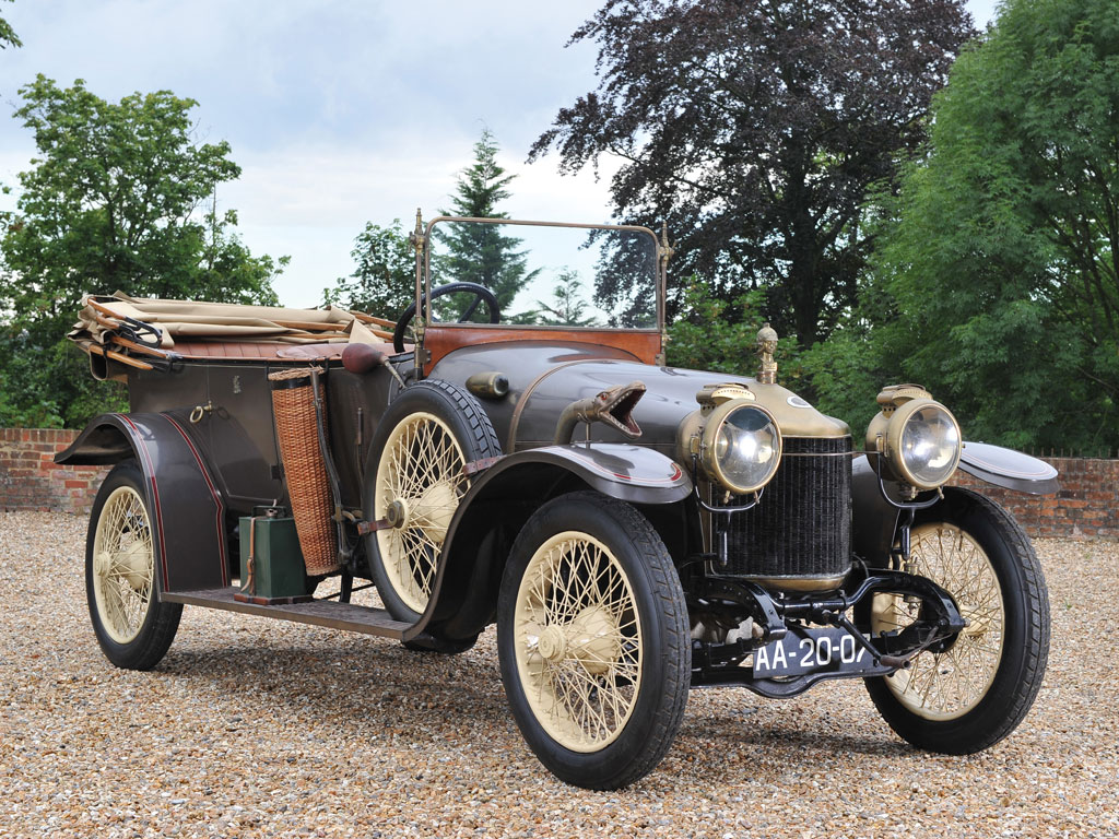 Minerva Type KK Tourer – 1914