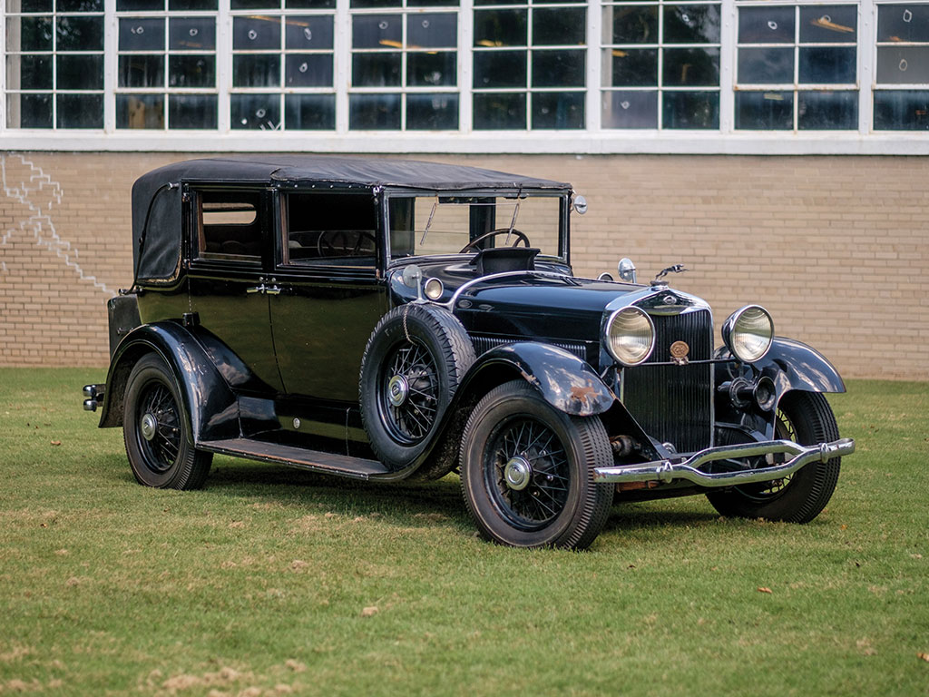 Lincoln Model L Five-Passenger Brougham – 1929