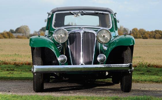 SS1 Fixed-Head Coupé - 1937