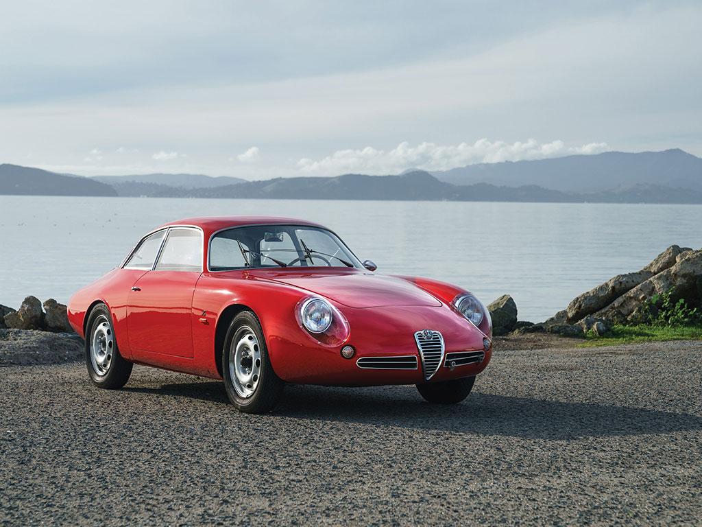 Alfa Romeo Giulietta Sprint Zagato 'Coda Tronca' – 1962