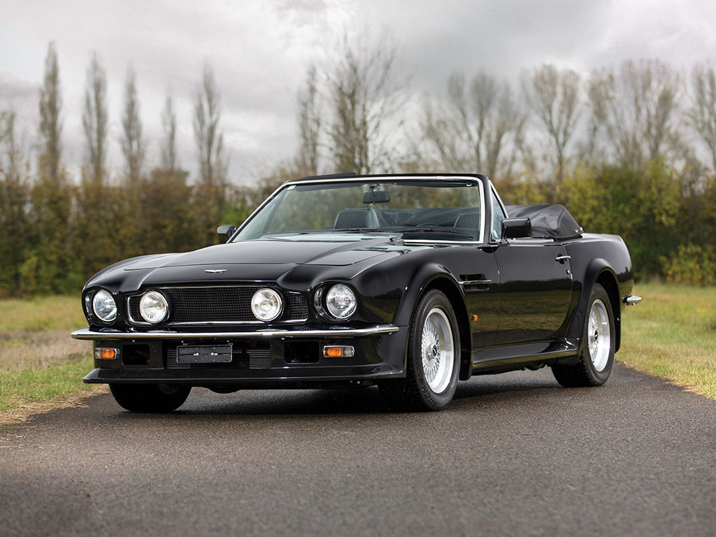 aston martin v8 vantage volante 1989. Black Bedroom Furniture Sets. Home Design Ideas