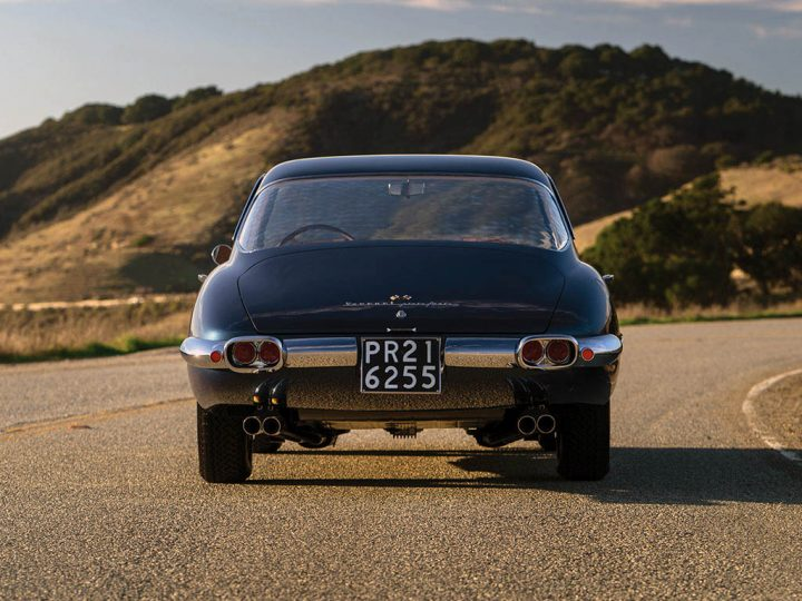 Ferrari 400 Superamerica SWB Coupe Aerodinamico - 1961