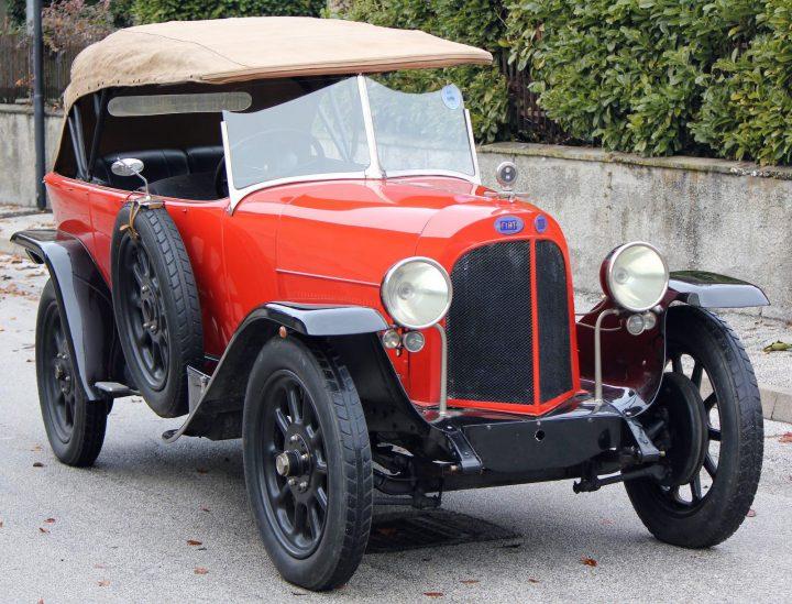 Fiat 510S Torpedo - 1922