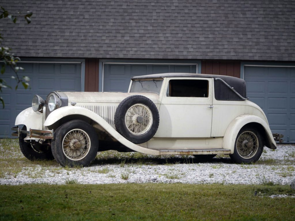 Isotta Fraschini Tipo 8A Two-Door Faux Cabriolet – 1931