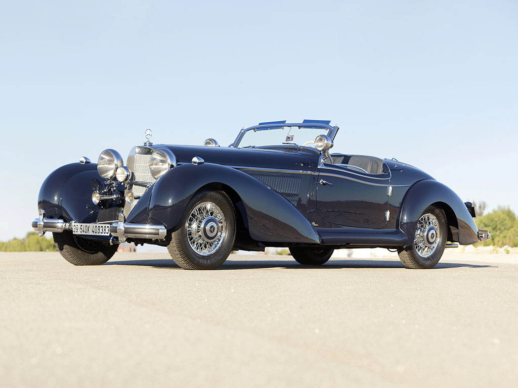 Mercedes Benz 540 K Special Roadster - 1939