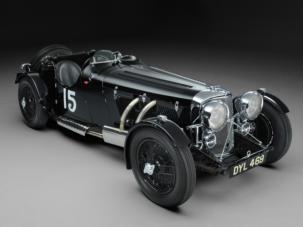 SS 100 Jaguar 2½ Litre Roadster competition – 1937