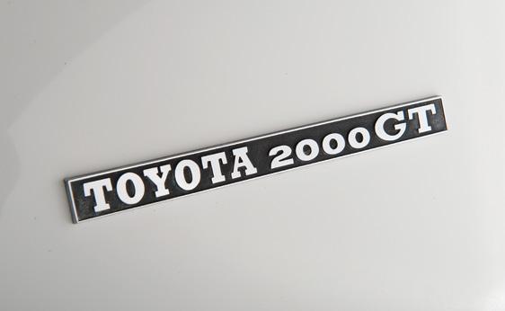 Toyota 2000GT Targa - 1967