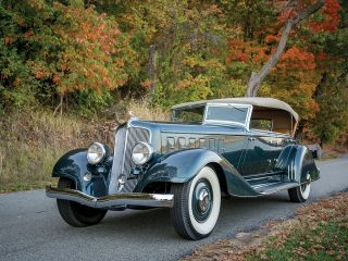 Chrysler CL Imperial Dual-Windshield Phaeton – 1933