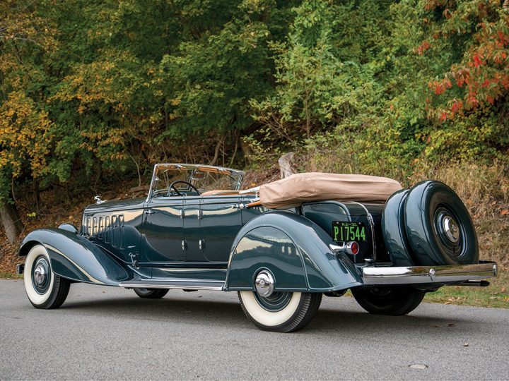 Chrysler CL Imperial Dual-Windshield Phaeton - 1933