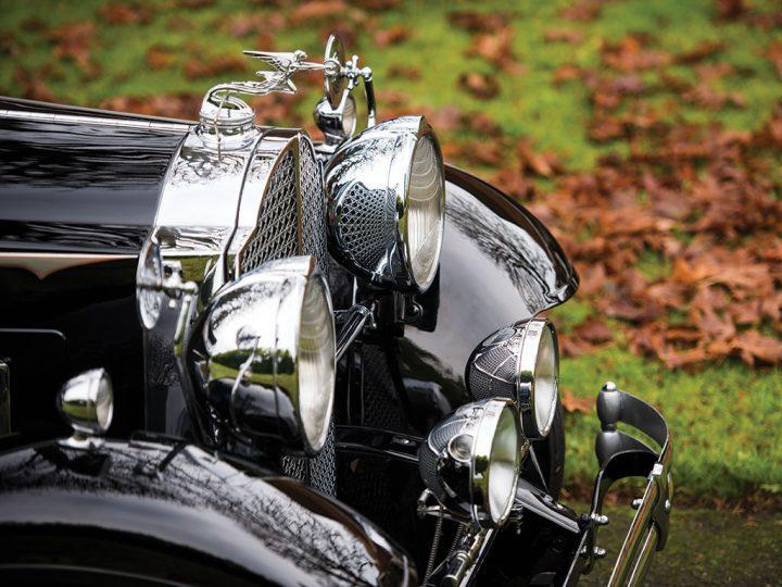 Packard Deluxe Eight Convertible Victoria - 1931