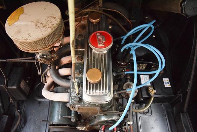 Autobleu 4CV - 1955