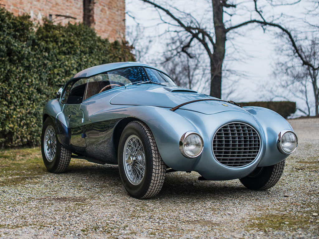 Ferrari 166 MM - 212 Export UOVO by Fontana - 1950