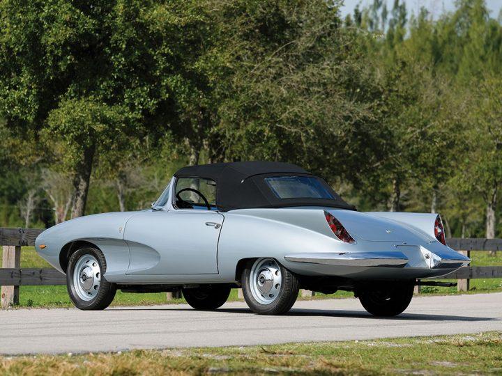 Stanguellini 1200 Spider America By Bertone 1957