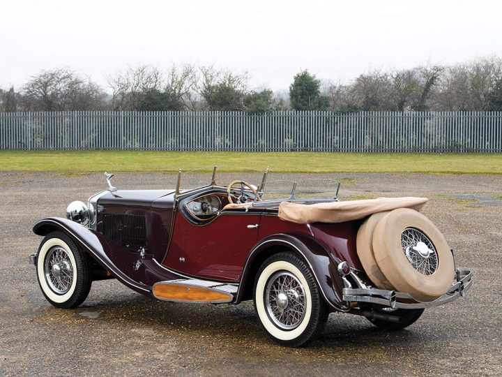 Isotta Fraschini Tipo 8A Dual Cowl Sports Tourer - 1933