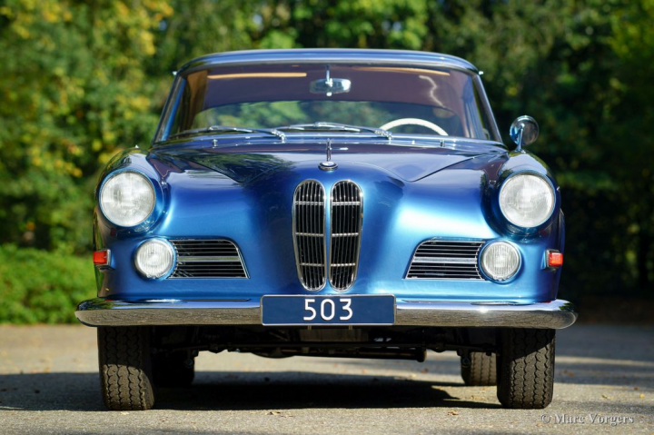 BMW 503 Coupe - 1958