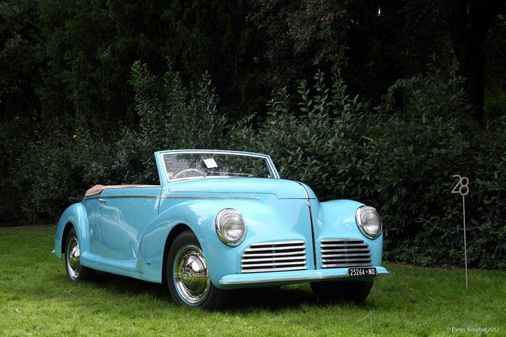 Lancia Aprilia Cabriolet Bertone – 1947