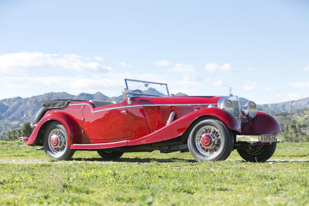 Mercedes-Benz 500K Tourer – 1934